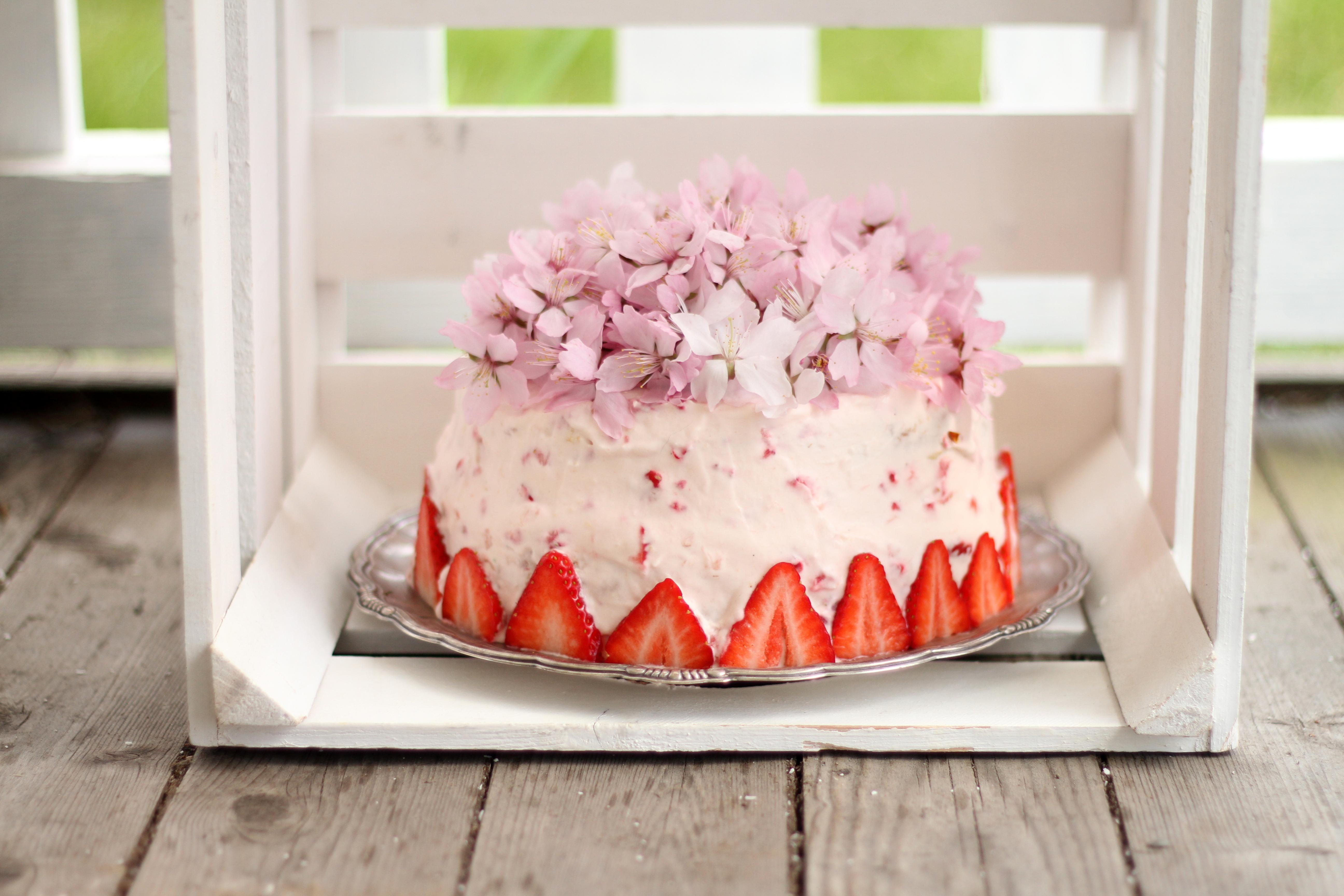 hög tårta fyllning