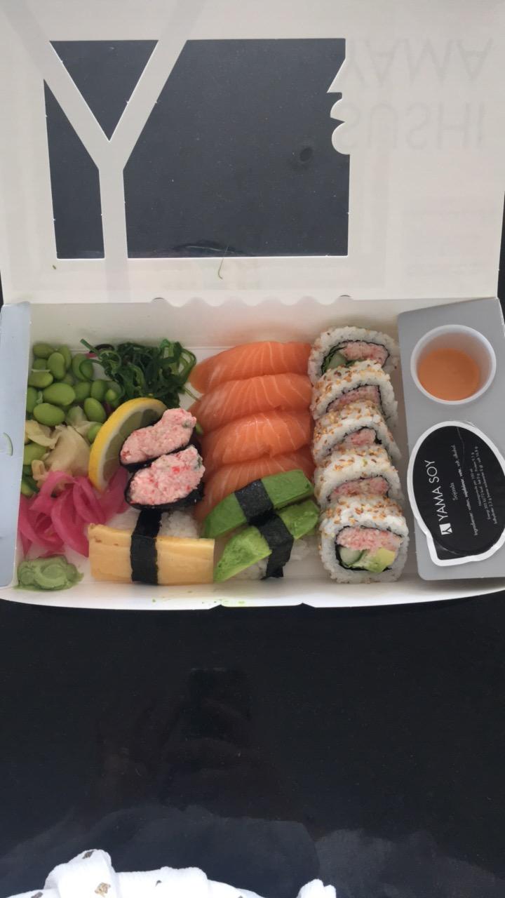 kan man äta sushi gravid